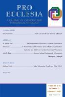Pro Ecclesia Vol 16 N3 PDF
