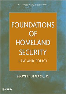 Foundations of Homeland Security PDF