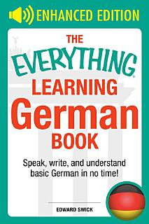 The Everything Learning German Book Book