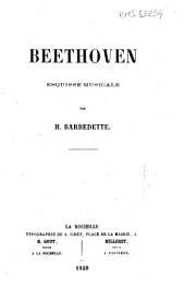 Beethoven: esquisse musicale
