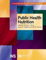 Public Health Nutrition PDF