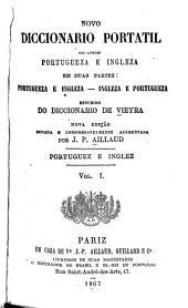 Novo diccionario portatil das linguas portugueza e ingleza ...