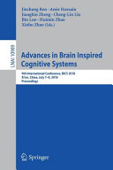 Advances in Brain Inspired Cognitive Systems PDF