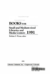 Recommended Reference Books for Small and Medium Sized Libraries and Media Centers  1991 PDF
