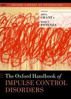 The Oxford Handbook of Impulse Control Disorders PDF