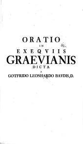 Oratio in exequiis Graevianis dicta