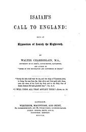 Isaiah's Call to England: being an exposition of Isaiah the eighteenth