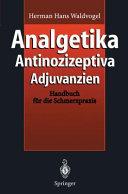 Analgetika Antinozizeptiva Adjuvanzien PDF