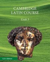 North American Cambridge Latin Course Unit 3 Student s Book PDF