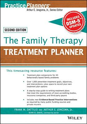 The Family Therapy Treatment Planner  with DSM 5 Updates  2nd Edition PDF