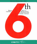 Martin Gardner's 6th Book of Mathematical Diversions from $textit {Scientific}$ $textit {American}$