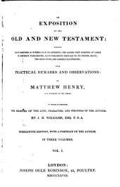 Exposition of the Old and New Testament: Volume 1