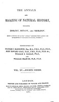 The annals and magazine of natural history  zoology  botany and geology0 PDF