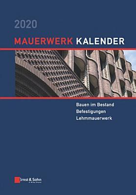 Mauerwerk Kalender 2020 PDF