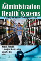 The Administration of Health Systems PDF