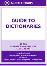 Guide to Dictionaries PDF