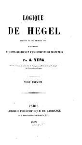 Logique de Hegel: Volume1