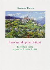 Intervista sulla piana di Sibari