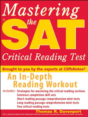 Mastering the SAT Critical Reading PDF
