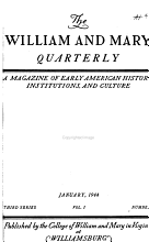 The William and Mary Quarterly PDF