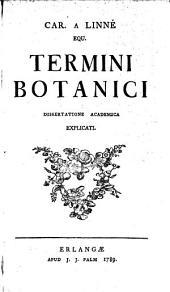 Termini botanici explicati