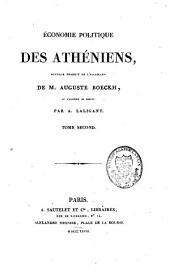 Economie politique des Athéniens: Volume2