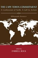 The Cape Town Commitment  A Confession of Faith  A Call to Action PDF