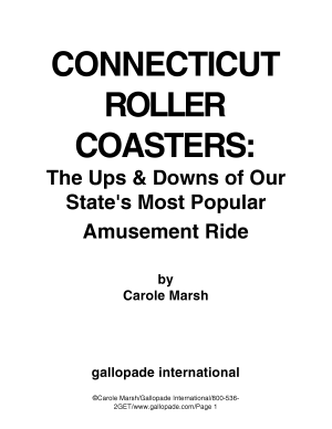 Connecticut Rollercoasters  PDF