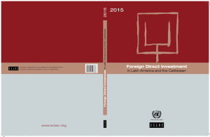 Foreign Direct Investment in Latin America and the Caribbean 2015 PDF