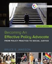 Empowerment Series: Becoming An Effective Policy Advocate: Edition 8