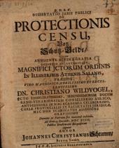 Diss. ... de protectionis censu