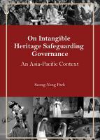 On Intangible Heritage Safeguarding Governance PDF