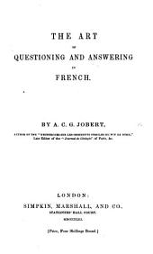 The Art of Questioning and Answering in French