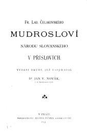 Mudrosloví národu slovanského v příslovích