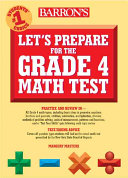 Let's Prepare for the Grade 4 Math Test