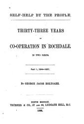 Self-help by the People: Thirty-three Years of Co-operation in Rochdale