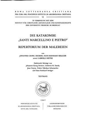 Die Katakombe  Santi Marcellino e Pietro  PDF