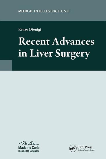 Recent Advances in Liver Surgery PDF