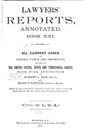 Lawyers  Reports Annotated PDF