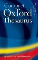 Oxford Compact Thesaurus PDF
