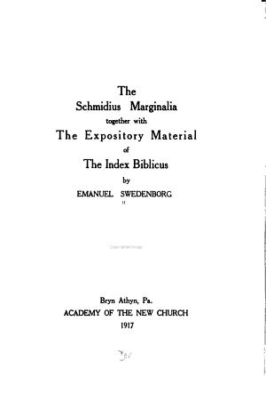 The Schmidius Marginalia