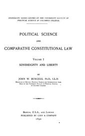 Political Science and Comparative Constitutional Law ...: Sovereignty and liberty