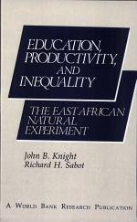Education, Productivity, and Inequality