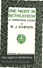 One Night in Bethlehem: A Christmas Story