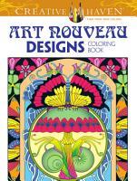 Creative Haven Art Nouveau Designs Collection Coloring Book PDF