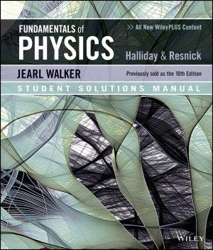 Fundamentals of Physics 11e Student Solutions Manual PDF