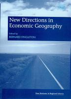 New Directions in Economic Geography PDF