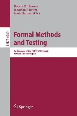 Formal Methods and Testing PDF