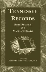 Tennessee Records Book