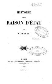 Histoire de la raison d'État